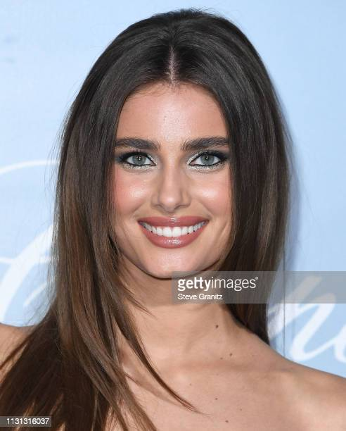 Taylor Hill arrives at the Hollywood For Science Gala at Private Residence on February 21 2019 in Los Angeles California