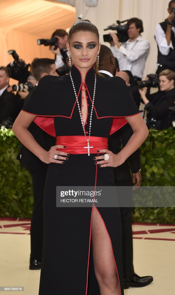 US-ENTERTAINMENT-FASHION-METGALA : Nieuwsfoto's