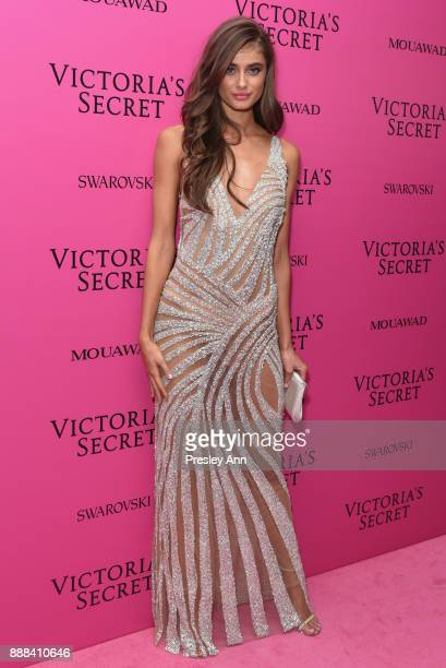 Taylor Hill attends 2017 Victoria's Secret Fashion Show In Shanghai After Party at MercedesBenz Arena on November 20 2017 in Shanghai China