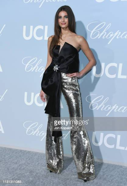 Taylor Hill attends the 2019 Hollywood For Science Gala at Private Residence on February 21 2019 in Los Angeles California