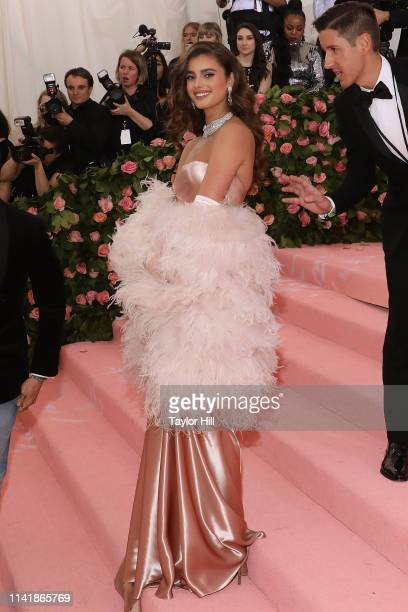 Taylor Hill attends the 2019 Met Gala celebrating Camp Notes on Fashion at The Metropolitan Museum of Art on May 6 2019 in New York City