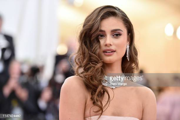 Taylor Hill attends The 2019 Met Gala Celebrating Camp Notes on Fashion at Metropolitan Museum of Art on May 06 2019 in New York City