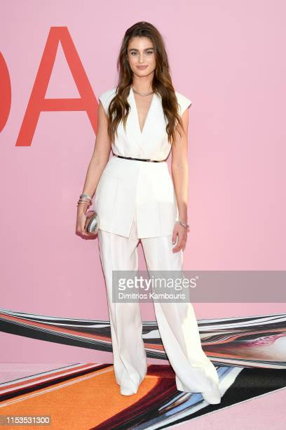 Taylor Hill attends the CFDA Fashion Awards at the Brooklyn Museum of Art on June 03 2019 in New York City