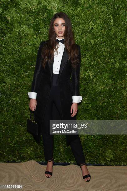Taylor Hill attends the CFDA / Vogue Fashion Fund 2019 Awards at Cipriani South Street on November 04 2019 in New York City