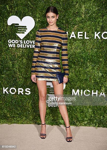 Taylor Hill attends the God's Love We Deliver Golden Heart Awards on October 17 2016 in New York City