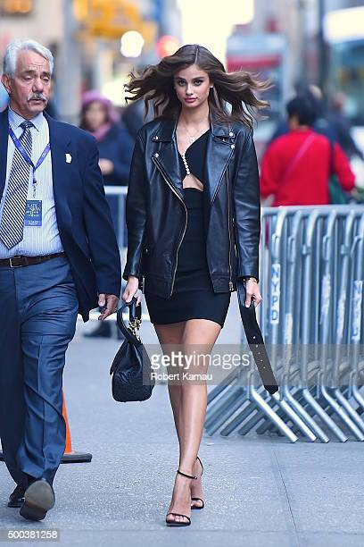 Taylor Hill attends The Late Show with Stephen Colbert on December 7 2015 in New York CityÊ