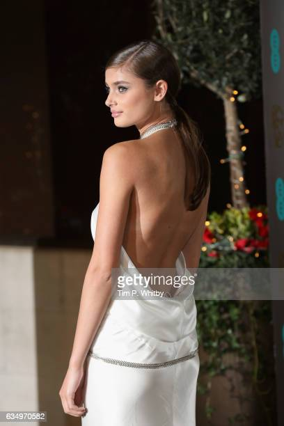 Taylor Hill attends the official after party for the 70th EE British Academy Film Awards at The Grosvenor House Hotel on February 12 2017 in London...