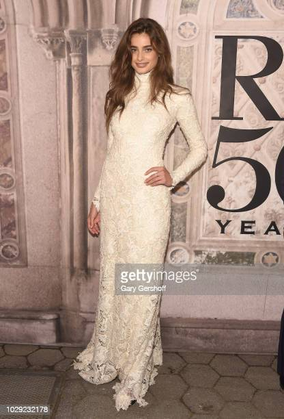 Taylor Hill attends the Ralph Lauren 50th Anniversary event during New York Fashion Week at Bethesda Terrace on September 7 2018 in New York City