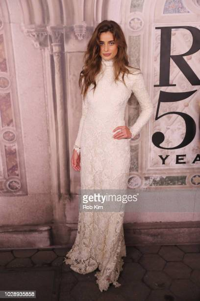 Taylor Hill attends the Ralph Lauren fashion show during New York Fashion Week at Bethesda Terrace on September 7 2018 in New York City