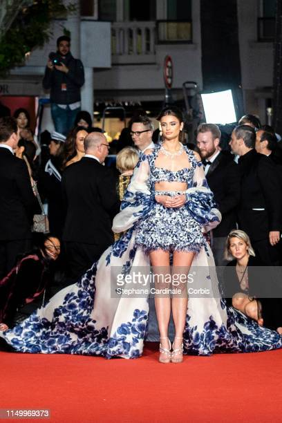 Taylor Hill attends the screening of Too Old To Die Young during the 72nd annual Cannes Film Festival on May 17 2019 in Cannes France