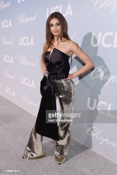 Taylor Hill attends the UCLA IoES honors Barbra Streisand and Gisele Bundchen at the 2019 Hollywood for Science Gala on February 21, 2019 in Beverly...