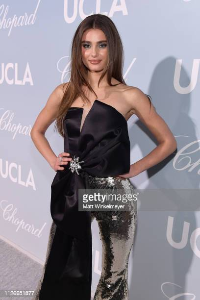 Taylor Hill attends the UCLA IoES honors Barbra Streisand and Gisele Bundchen at the 2019 Hollywood for Science Gala on February 21 2019 in Beverly...