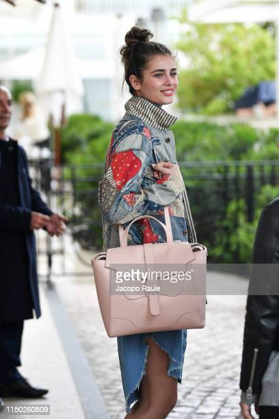 Taylor Hill is seen during the 72nd annual Cannes Film Festival at on May 19, 2019 in Cannes, France.