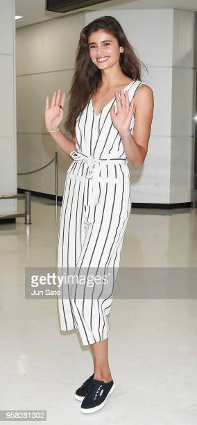 Taylor Hill is seen upon arrival at Narita International Airport on May 14 2018 in Narita Japan