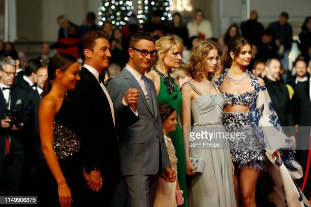 Taylor Hill Lola Winding Refn Liv Corfixen Nicolas Winding Refn Miles Teller and his girlfriend Keleigh Sperry attend the screening of Too Old To Die...