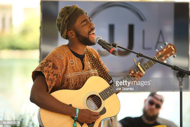 Taylor Hill performs onstage at the KALEIDOSCOPE LAWN TALKS presented by Delta Air Lines Cannabinoid Water on April 13 2017 in La Quinta California