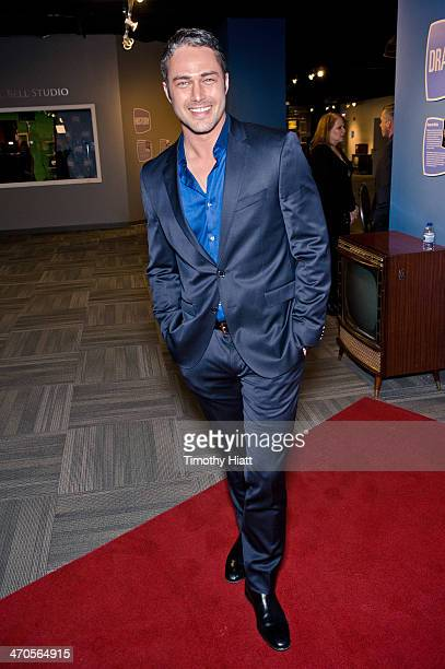 Taylor Kinney appears in advance of a panel discussion at the Museum of Broadcast Communications in Chicago, IL on February 19, 2014
