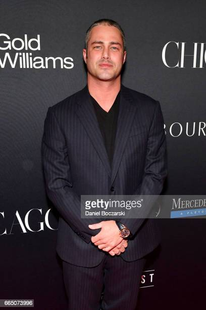 Taylor Kinney attends MOD Media Presents ChicagoMOD Magazine on April 5, 2017 in Chicago, Illinois.