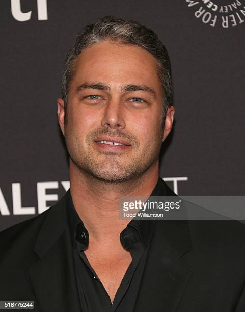Taylor Kinney attends the The Paley Center For Media's 33rd Annual PaleyFest Los Angeles Closing Night Presentation 'American Horror Story Hotel' at...