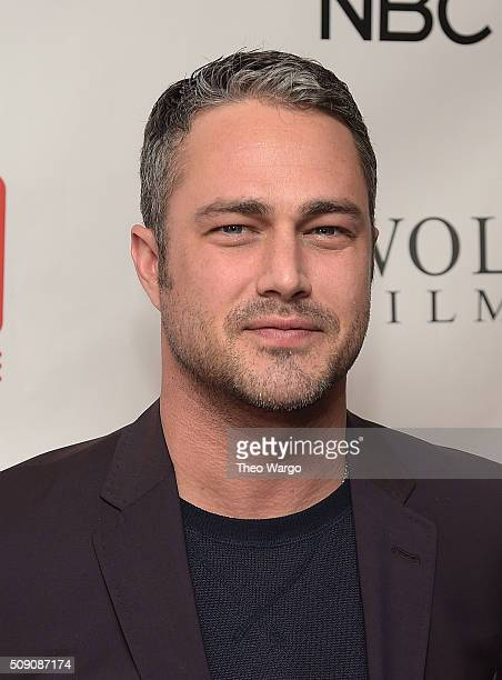 Taylor Kinney attends the TV Guide Magazine Celebrates Dick Wolf's Chicago Series at LeGrande Lounge at The Time New York Hotel on February 8, 2016...
