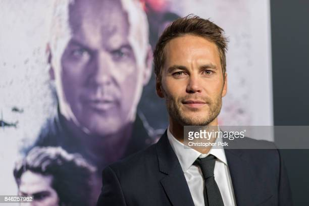 Taylor Kitsch arrives to the screening of CBS Films And Lionsgate's American Assassin at TCL Chinese Theatre on September 12 2017 in Hollywood...