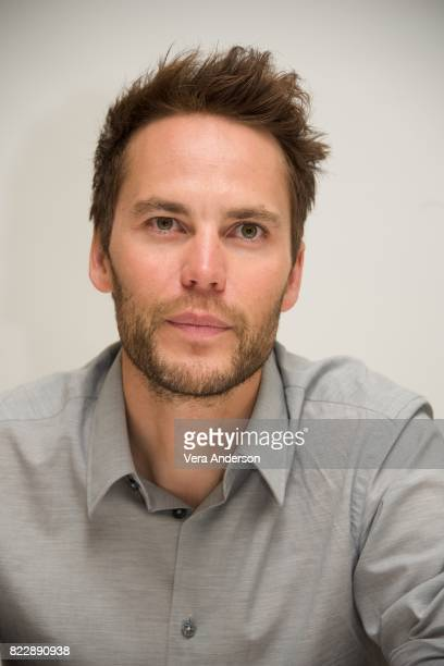 Taylor Kitsch at the American Assassin Press Conference at the Four Seasons Hotel on July 24 2017 in Beverly Hills California