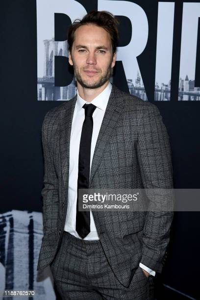 Taylor Kitsch attends the 21 Bridges New York Screening at AMC Lincoln Square Theater on November 19 2019 in New York City