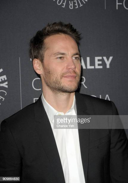 Taylor Kitsch attends 'Waco' world premiere screening at The Paley Center for Media on January 24 2018 in New York City