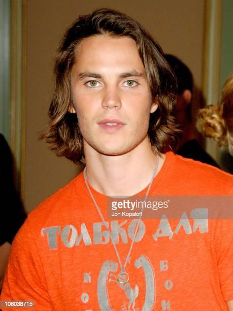 Taylor Kitsch during NBC 2006 Summer AllStar Party at Ritz Carlton Hotel in Pasadena California United States