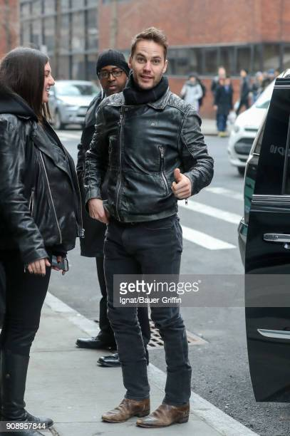 Taylor Kitsch is seen on January 22 2018 in New York City