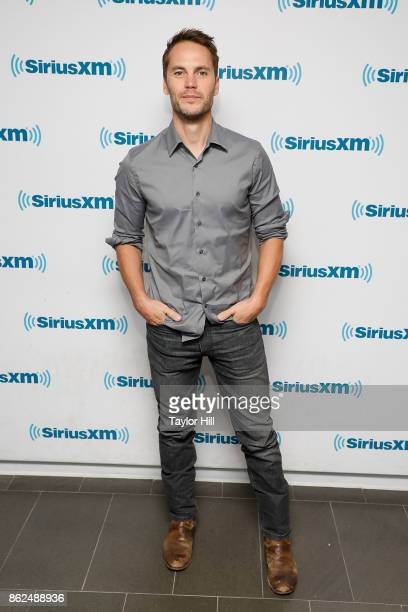 Taylor Kitsch visits the SiriusXM Studios on October 17 2017 in New York City