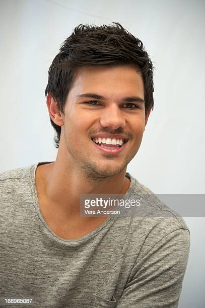 Taylor Lautner at the 'Grown Ups 2' Press Junket on April 18 2013 in Cancun Mexico