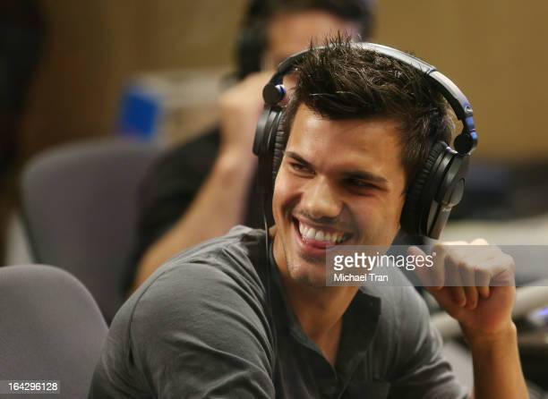 Taylor Lautner attends The Ryan Seacrest Foundation West Coast debut of new multimedia broadcast center 'Seacrest Studios' held at CHOC Children's...