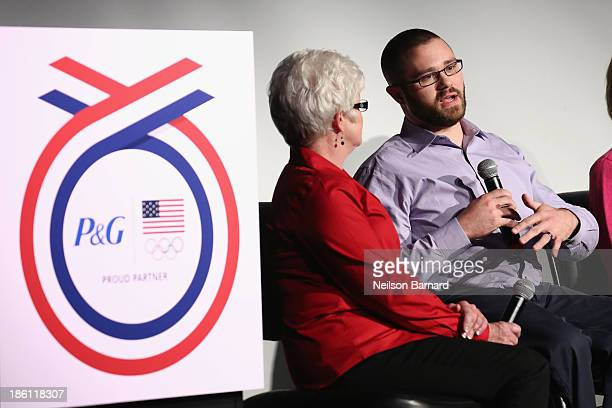 Taylor Lipsett Paralympian and his mom Cheryl Lipsett join PG to kickoff The 2014 Sochi Olympic Winter Games 'Thank You Mom' campaign with a...