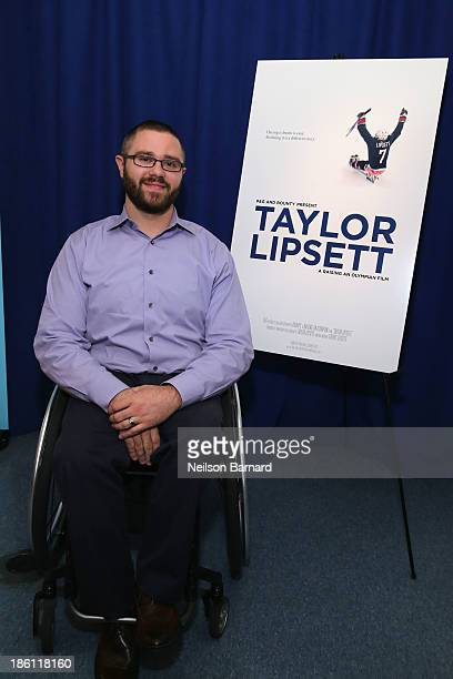 Taylor Lipsett Paralympian joins PG to kickoff The 2014 Sochi Olympic Winter Games 'Thank You Mom' campaign with a screening of their 'Raising an...