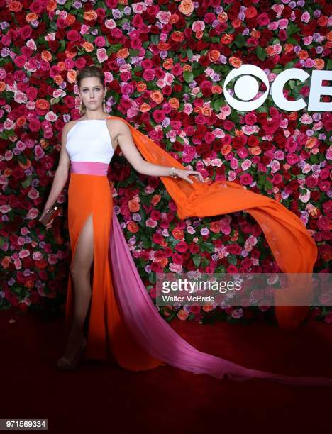 Taylor Louderman attends the 72nd Annual Tony Awards on June 10 2018 at Radio City Music Hall in New York City