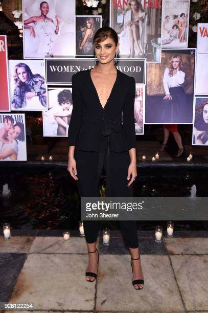 Taylor Marie Hill attends Vanity Fair and Lancome Paris Toast Women in Hollywood hosted by Radhika Jones and Ava DuVernay on March 1 2018 in West...
