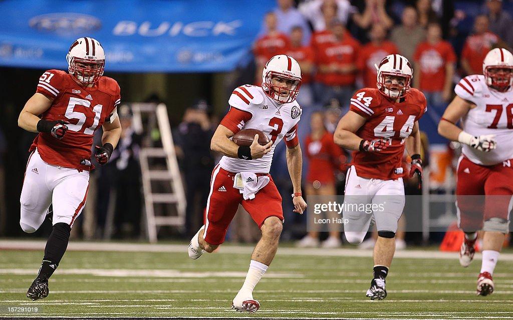 Big Ten Championship - Nebraska v Wisconsin : News Photo