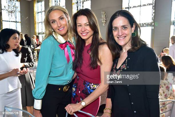 Taylor McKenzieJackson Paige Boller and Terri Friedman attend Central Park Conservancy's 5th Annual Playground Partners Winter Luncheon at The...
