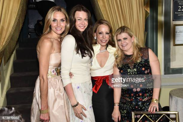 Taylor McKenzieJackson Paige Boller Kamie Lightburn and Whitney Mogavero attends New York Flower Show Dinner Dance A Benefit for The Horticultural...