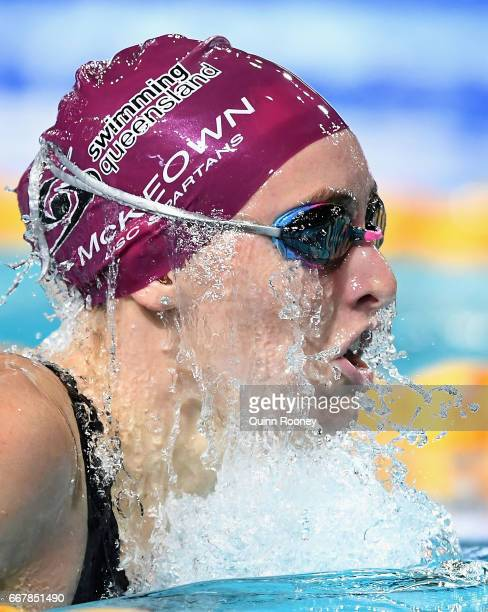 Taylor McKeown of Australia competes in the Women's 200m Individual Medley during the 2017 Australian Swimming Championships at the Sleeman Sports...