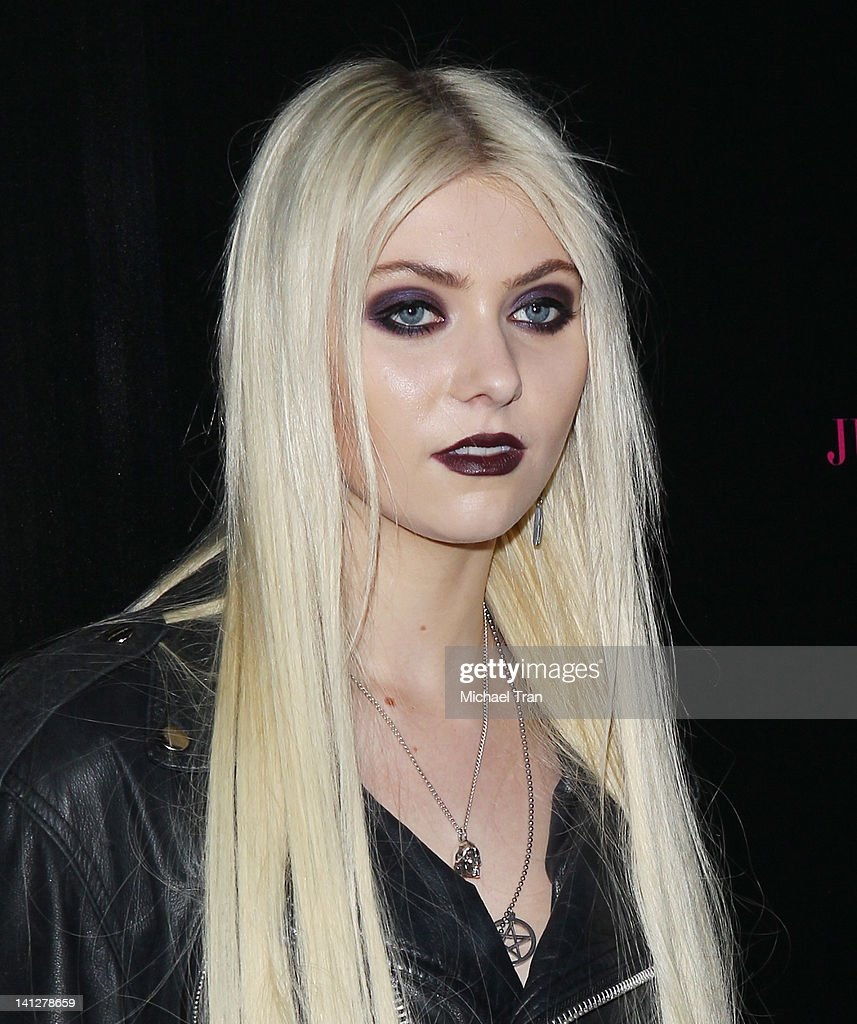 Taylor Momsen arrives at the launch party for