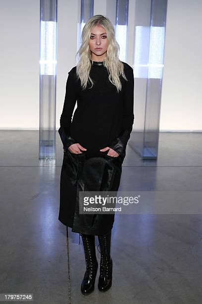 Taylor Momsen attends the Helmut Lang show during Spring 2014 MercedesBenz Fashion Week on September 6 2013 in New York City