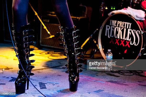 The Pretty Reckless Perform In Chicago Illinois Stock Fotos Und Bilder Getty Images