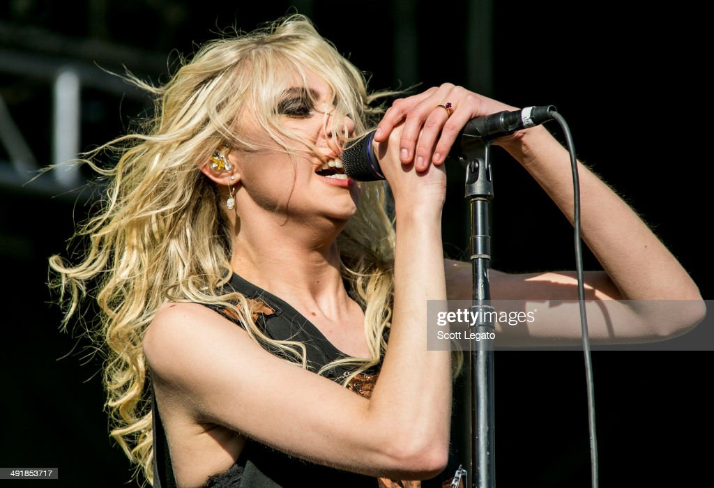 Taylor Momsen of The Pretty Reckless performs during 2014