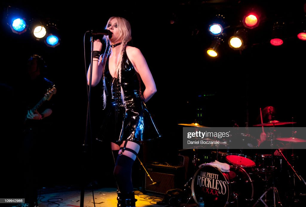 The Pretty Reckless Perform At The Beat Kitchen In Chicago Illinois ...