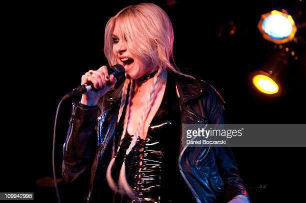 The Pretty Reckless Perform At The Beat Kitchen In Chicago