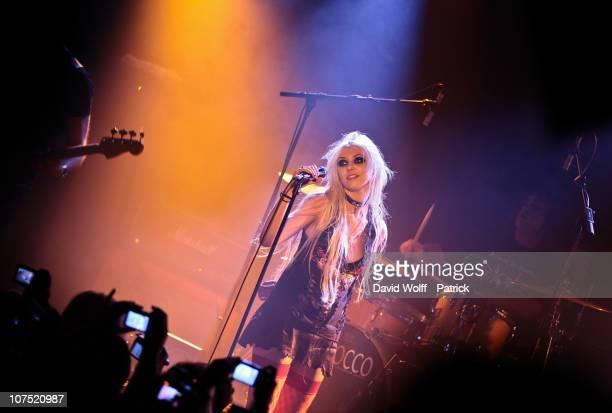 Taylor Momsen performs Live at La Maroquinerie on December 9 2010 in Paris France