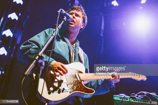 Taylor Mulitz of Flasher performs onstage at Teatro Barceló on November 16, 2018 in Madrid, Spain.