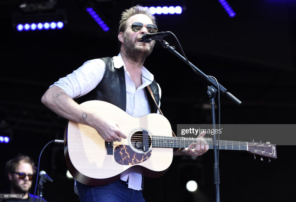 MC Taylor of Hiss Golden Messenger performs during the Monterey International Pop Festival 2017 at Monterey County Fairgrounds on June 18, 2017 in Monterey, California.